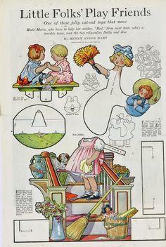 Womans companion 1918 Little Folks Circus Little Folks Play Friends – Bobe Green – Picasa Nettalbum