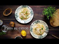 Pâtes à la sauce de citron comme en Italie. Une recette facile, rapide, du placard et super parfumée avec la vidéo pas à pas.