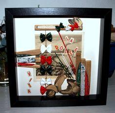 ti pierig : Illustrations anciennes, pâtes, Sardines sur bois flotté, dentelle de papier...