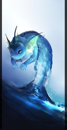 Vaporeon, one of my two favorite eveelutions (the other is jolteon)