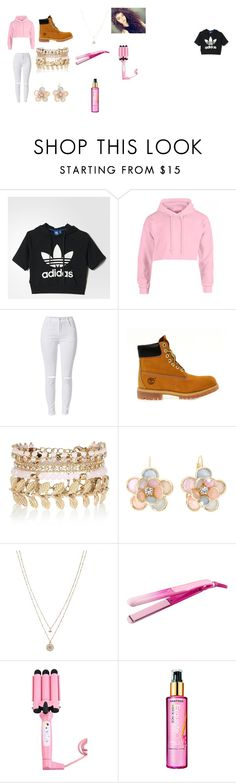 """Untitled #115"" by princess212146 ❤ liked on Polyvore featuring adidas, Timberland, River Island, Mixit, LC Lauren Conrad and Matrix Biolage"