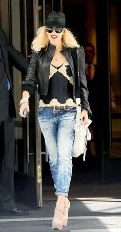 Gwen Stefani ~ New York Fashion Week in style
