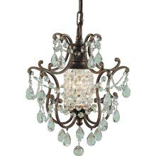 Maison De Ville British Bronze Mini Chandelier easily blends with your home's existing decor. This British bronze finished fixture combines function and style. This chandelier may be mounted with chain to ceiling or to ceiling fan. Home Lighting, Pendant Lighting, Lighting Ideas, Task Lighting, Island Lighting, Light Pendant, Modern Lighting, Lighting Design, Home Depot