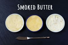 A complete guide on how to make smoked butter at home. All the steps to make butter from scratch and add a delicious smoked flavor. Traeger Recipes, Grilling Recipes, Charcuterie Recipes, Smoked Cheese, Flavored Butter, Fire Cooking, Smoking Recipes, How To Grill Steak, Molecular Gastronomy