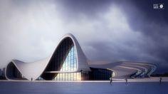 Non-commissioned 3d visualization project by Lemons Bucket. Architect: Zaha Hadid Visualizations: Lemons Bucket