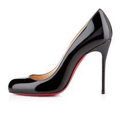 LOUBOUTIN - AUG 2014 - FIFI PATENT 100 mm, Patent leather, BLACK, Women Shoes.  EUR 465.00 http://eu.christianlouboutin.com/de_en/shop/women/fifi-patent.html