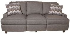 Klaussner Empress Sofa with Power Footrest // New Home Furniture from Homemakers | April