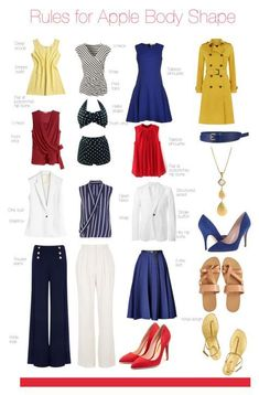 apple body shape outfit tips Source by feikazuhiko clothes for apple shape Apple Body Shape Outfits, Apple Shape Fashion, Dresses For Apple Shape, Apple Body Fashion, Apple Body Type, Apple Body Shapes, Mode Outfits, Fashion Outfits, Fashion Capsule