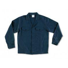 Cazadora de algodón con botones Referencia  488-CAB top Marca:  Marca PL  Chaqueta azul marino con botones