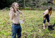 Alaskan Bush People- Gabe & Joshua Bam Bam Brown