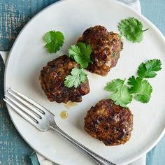 Southwestern-Style Meatballs | MyRecipes.com These meatballs are made with onion, minced garlic, corn tortilla, egg, ground sirloin, and chipotle chile.