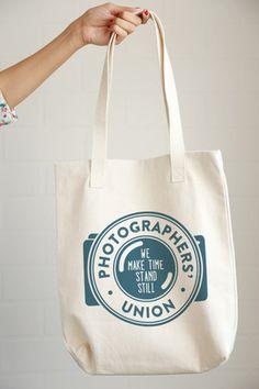Photographers Union Tote Bag