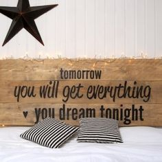 Tomorrow you will get everything you dream tonight Bedroom Reading Nooks, Colorful Bedding, Cozy Room, Home Bedroom, Bedroom Ideas, Home Art, Bed Pillows, Sweet Home, Room Decor