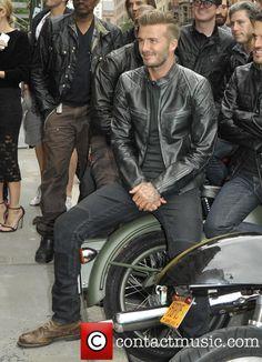 David Beckham at the 'Belstaff: Off Road/David Beckham' book signing