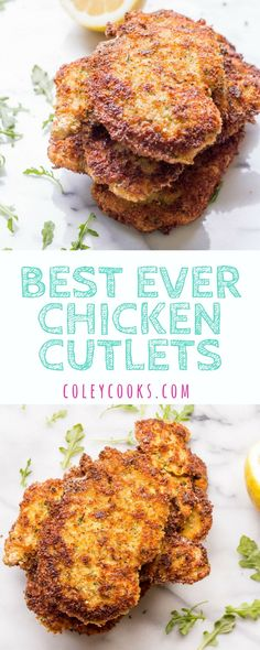 BEST EVER CHICKEN CUTLETS Secrets to the crispiest thinnest most tender perfectly cooked chicken cutlets EVER Perfect for Chicken Milanese Chicken Parm or for kids How To Cook Chicken, Cooked Chicken, Chicken Gravy, Chicken Broccoli, Boneless Chicken, Roasted Chicken, Cutlets Recipes, Recipes For Chicken Cutlets, Breaded Chicken Recipes