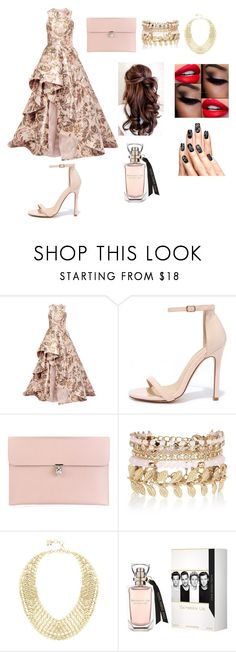 """""""Awards Show"""" by kiana-champ ❤ liked on Polyvore featuring Monique Lhuillier, Liliana, Alexander McQueen, River Island and BCBGMAXAZRIA"""