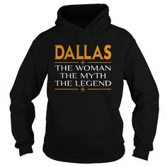 I Love Dallas The Woman The Myth The Legend  TeeForDallas T-Shirts
