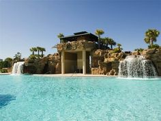 Contacted owner and not available for our dates - Wow! Love this pool! 5 brm, sleeps 19,free... - VRBO