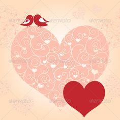 Red Valentine Lovebird Greeting Card #GraphicRiver Red Valentine Lovebird Greeting Card. Zip file contains fully editable EPS10 vector file and high resolution RGB Jpeg image. Created: 24November12 GraphicsFilesIncluded: JPGImage #VectorEPS Layered: No MinimumAdobeCSVersion: CS Tags: background #bird #card #celebration #clip-art #floral #flower #greetingcard #heart #illustration #invitation #kiss #kissing #love #lovebird #lover #pattern #pink #red #seamless #seasonal #spring #summer…