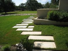 Path to Activity Patio Design, Garden Design, Backyard Plan, Stone Walkway, Pathways, Stepping Stones, Landscape, Outdoor Decor, Gardens