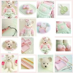 Ravelry: CANDY Bear pattern by Susan Hickson