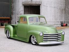 Check out Tom and Pat Holmes' Alluring 1948 Chevy