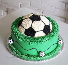 The Effective Pictures We Offer You About psg Soccer Cake A quali Cake Icing, Buttercream Cake, Cupcake Cakes, Cake Decorating Techniques, Cake Decorating Tips, Soccer Ball Cake, Soccer Cakes, Soccer Birthday Cakes, Cakes For Boys