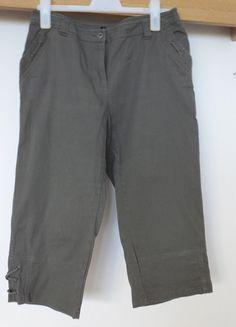 Kupuj mé předměty na #vinted http://www.vinted.cz/damske-obleceni/kapri/10094955-34-kalhoty-do-pasu