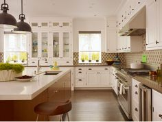 hutch cabinets eliminate wasted countertop space that will attach clutter #clutterelimination