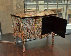 Képregényes antik bútor, 380.000,-HUF