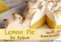 Lemon Pie para Diabéticos - Sin Azúcar