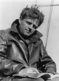 Novelist Jack London, author of such classics as The Call of the Wild and  Sea Wolf, born on Jan 12, 1876.
