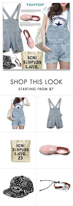 """""""TOMTOP+ 7"""" by amra-mak ❤ liked on Polyvore featuring Vans, vintage, tomtop and tomtopstyle"""