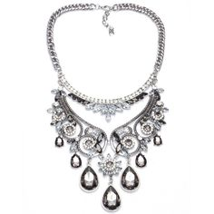Item Type: Necklaces Pendant Size: cm Style: Trendy Necklace Type: Chain Necklaces Gender: Women Material: Resin Chain Type: Link Chain Length: cm adj Trendy Necklaces, Silver Necklaces, Women's Necklaces, Flower Plates, Necklace Types, Flower Pendant, Silver Plate, Chokers