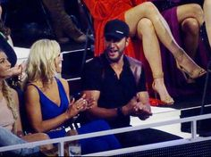 When he found out he won ❤️ Luke Bryan and Caroline Bryan ❤️
