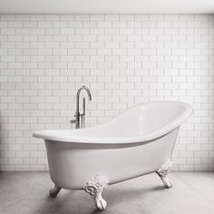 There's just something about a classic, timeless designed bathtub like the Sofia slipper bath. Soak up every minute of luxury - it's a pure bathing indulgence. Cosy Bathroom, Bathroom Styling, Bathroom Vanities, Master Bathroom, Bathrooms, Bathroom Showrooms, Bathroom Renovations, Back To Wall Bath, Boutique Bathroom