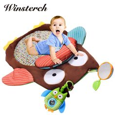 Cheap activity mat, Buy Quality play mat directly from China soft play mat Suppliers: 76cm*76cm Baby Tummy Time Soft Play Mat Rug Plush Baby Crawling Activity Mat Playing Cushion Pillow Pad Teether Gift WW321