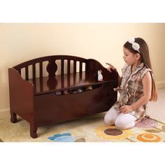 KidKraft Queen Anne Toy Box Bench - 14436 $89.98