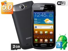 Smartphone 3G Samsung Galaxy W Android 2.3, $400