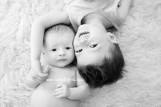 Baby and brother photography