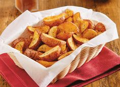 My girls loved these -Pub Fries Recipe from Simply Potatoes