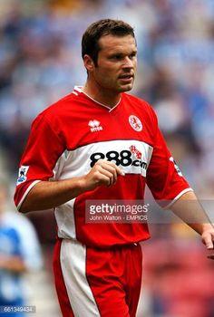 Mark Viduka Middlesbrough Middlesbrough Fc, Der Club, Wigan Athletic, Boro, Football Players, Messi, Premier League, Soccer, England