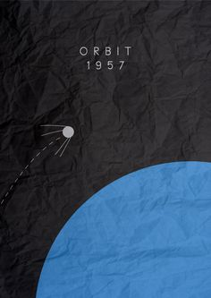 Sputnik Minimalist poster by chris3290.deviantart.com on @deviantART