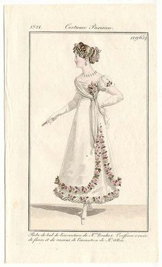 Dames a la Mode fashion plate collection from 18th & 19th centuries  (click through)