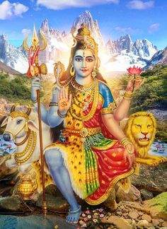 Shiva Shakti.The United Form of The Supreme Lord & Supreme Mother Goddess.Proofing the equality of Shiva & Shakti