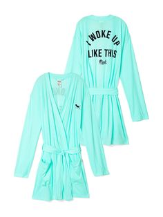 Robe in Light Blue $44.95 - PINK - Victoria's Secret