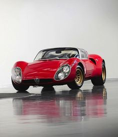 Alfa Romeo Tipo 33 Stradale (by Auto Clasico)      33Alfa