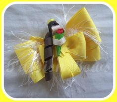 "4"" Belle Inspired Ribbon Sculptured Fancy Bow"
