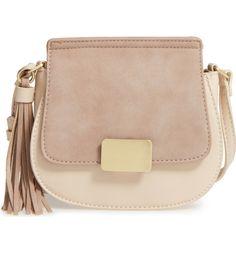 Main Image - Emperia Milla Faux Leather Saddle Bag