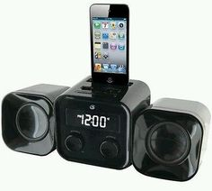 GPX-Micro-Music-System-HM102B-MP3-DOCK-3-5mm-Audio-Jack-Alarm-Clock